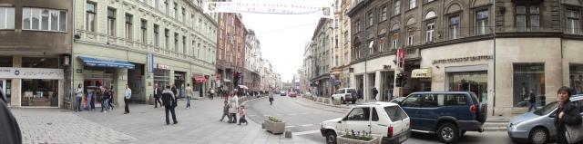The Center of Sarajevo