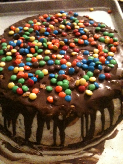 great choice for a birthday cake that s homemade is an ice cream cake ...