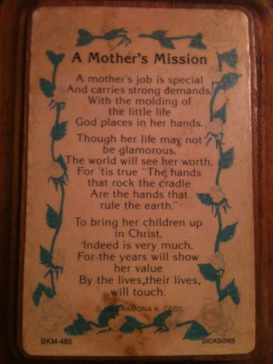 a mother's mission