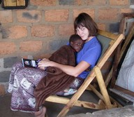 Katherine Roberts in Africa
