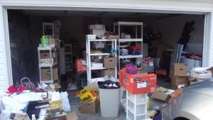 full garage of stuff