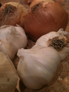 roasted garlic soup ingredients