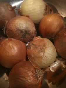 lots of onions