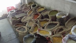 lentils and grain
